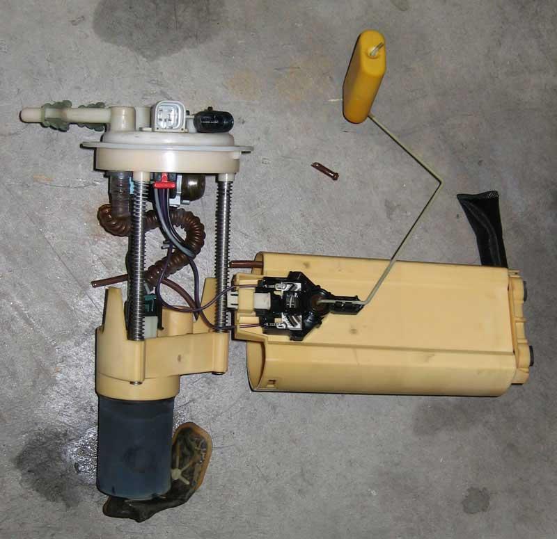 f-body intank fuel pump install 99+ 99 walbro camaro transam ls1 lsx